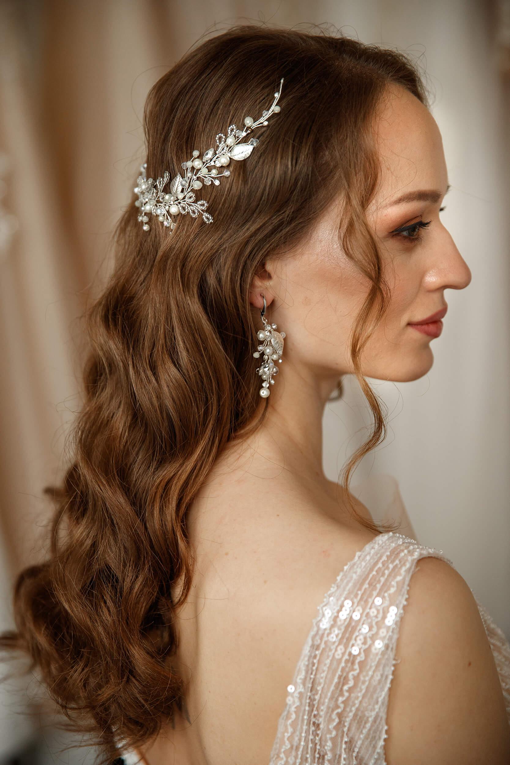 украшения для свадебных причесок | Vero