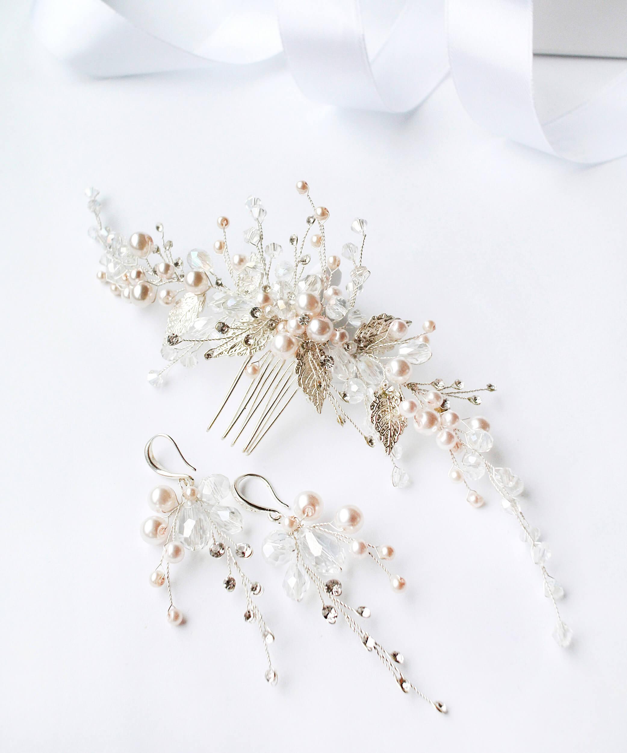 украшения под свадебное платье   Vero