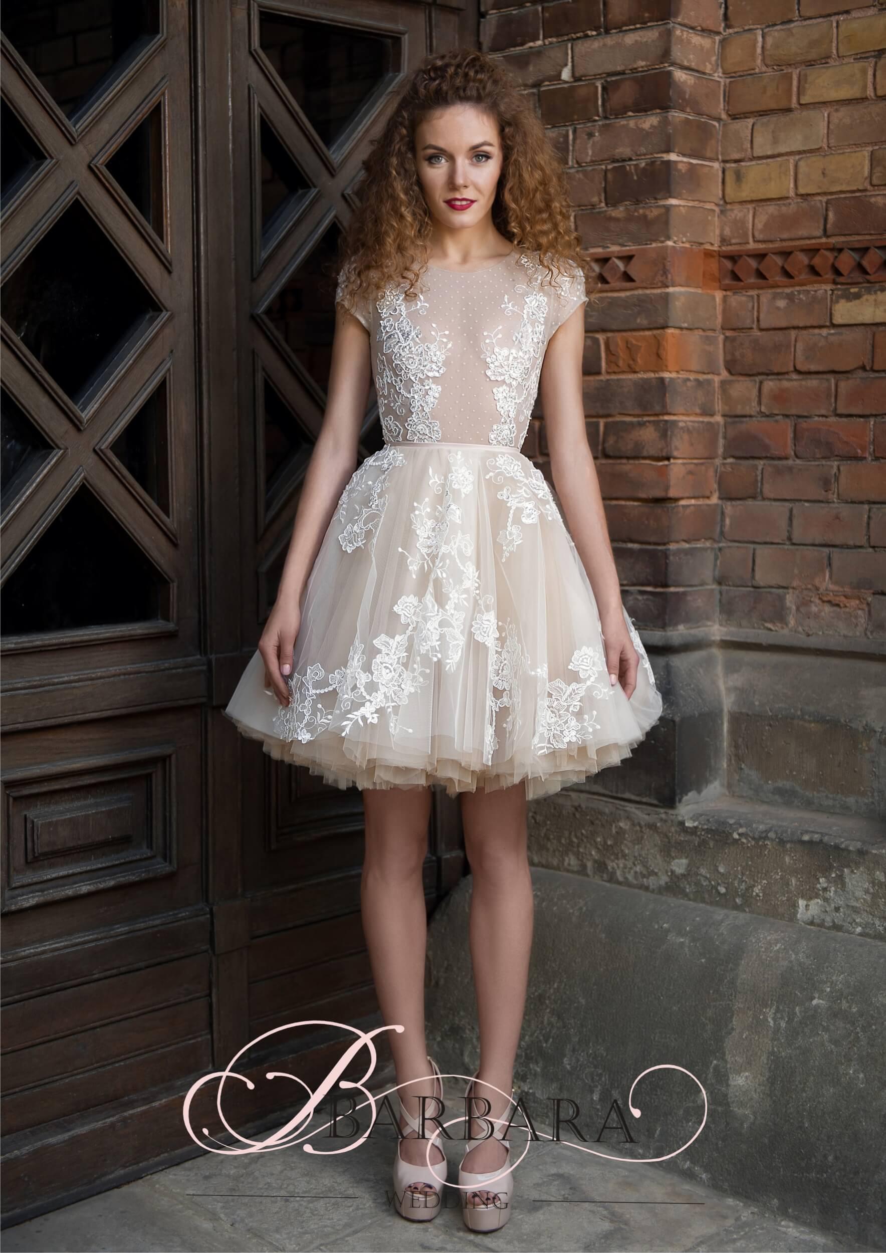 короткие пышные платья | Vero