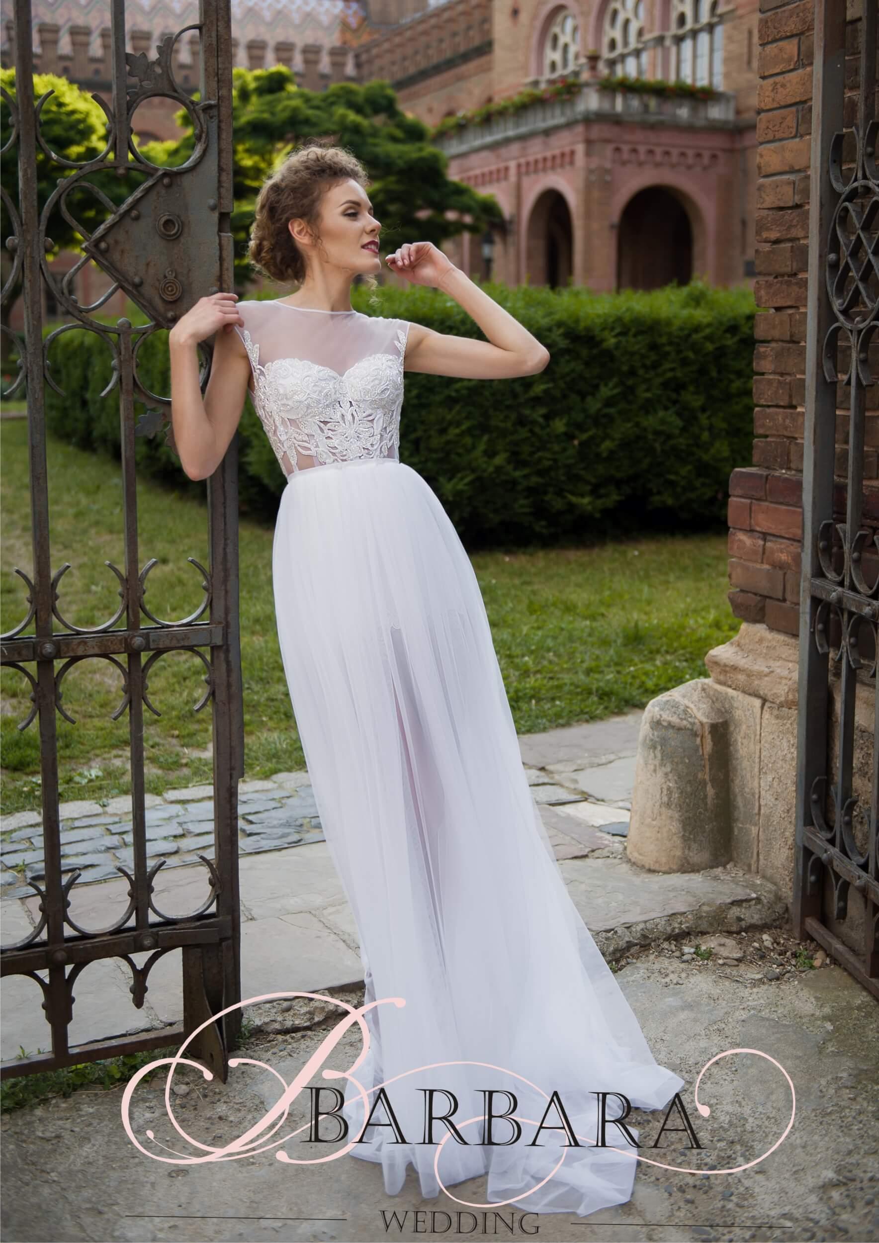 платье короткое со шлейфом | Vero