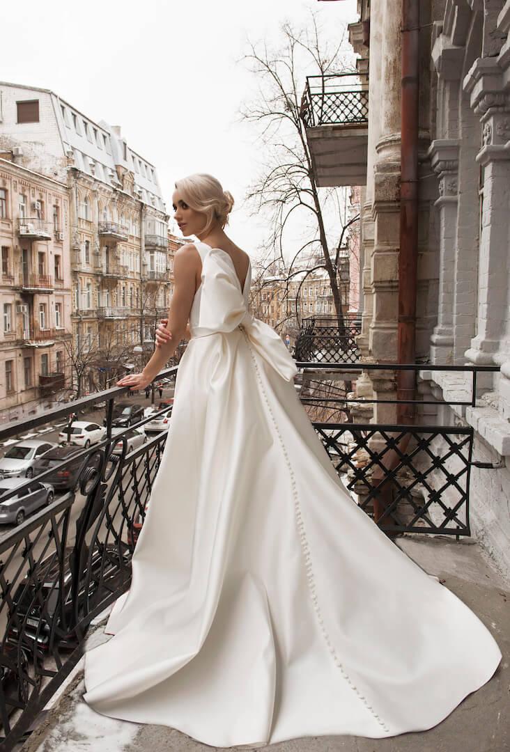 платья из атласа | Vero