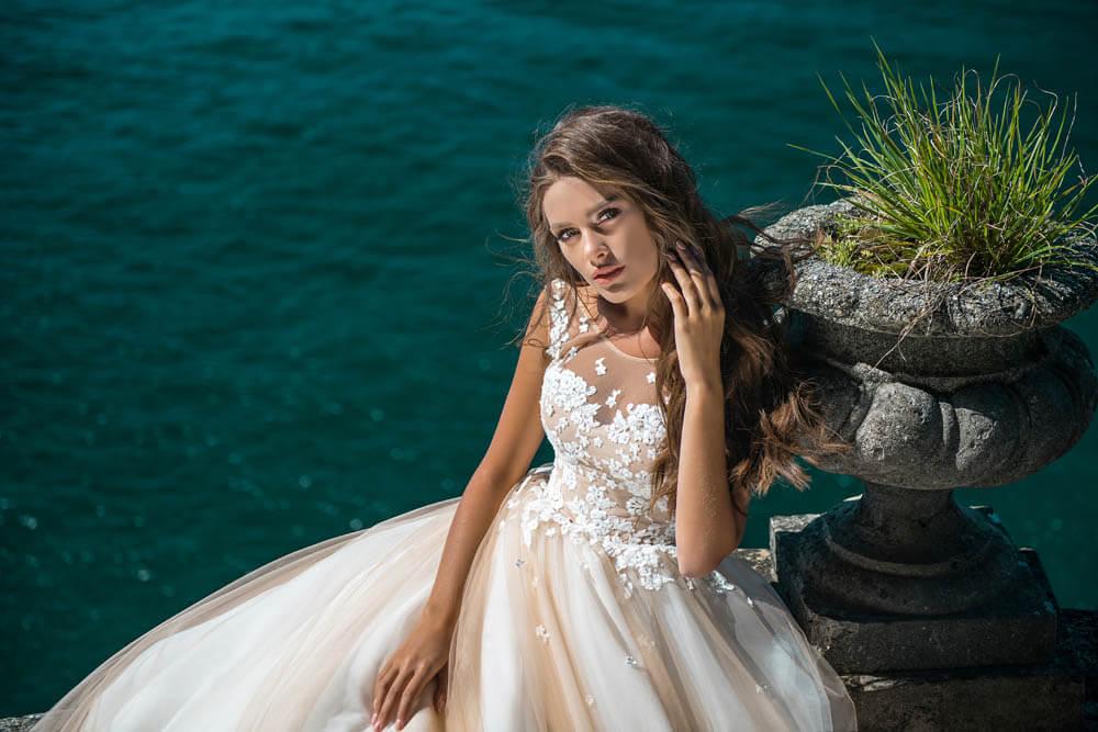 красивые пышные свадебные платья   Vero
